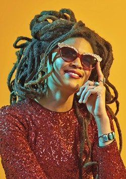 STRAIGHT OUTTA MEMPHIS Genre-jumping singer-songwriter and multi-instrumentalist Valerie June plays the Fremont Theater on Dec. 2. - PHOTO COURTESY OF JACOB BLICKENSTAFF
