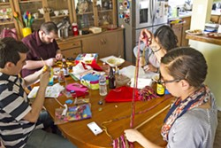CRAFT DAY Sewing, soap making, and macramé are do-it-yourself gifts anyone can craft for their family and friends. - PHOTO BY JAYSON MELLOM