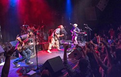 BOULDER ROCK Boulder-based rock act Amoramora plays Frog and Peach on Dec. 13. - PHOTO COURTESY OF AMORAMORA