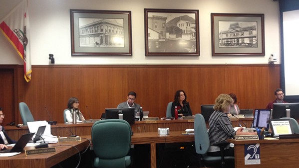 HAMMER The SLO City Council signed off on a new city plan to increase fines for code violations on Nov. 21. - FILE PHOTO