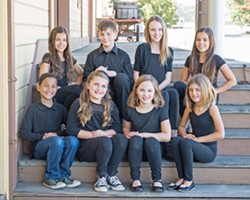 ADORABLE Coastal Youth Theatre singers are one of several groups to perform at the 10th Annual Rotary Christmas and Holiday Sing-Along on Dec. 17, at the Clark Center. - PHOTO COURTESY OF TRACY WAIKUS PHOTOGRAPHY