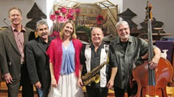 TIS THE SEASON Enjoy a Christmas Jazz Vespers with the George Garcia Quartet and vocalist Inga Swearingen at SLO's First Presbyterian Church on Dec. 17. - PHOTO COURTESY OF CRAIG UPDEGROVE