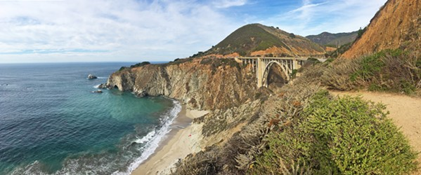 PHOTOGRAPH THIS The Bixby Creek Bridge on Highway 1 is one of the most iconic bridges in California. - PHOTO BY CAMILLIA LANHAM