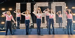 HARMONY In Pitch Perfect 3, the Bellas are back to sing together for an overseas USO tour. - PHOTO COURTESY OF UNIVERSAL PICTURES