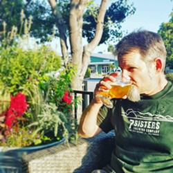 STICKING WITH SEVEN 7Sisters Brewing Company owner/brewer Steve Van Middlesworth has named his beers after SLO's seven famous sisters, or morros. Try the Cabrillo Peak Amber, Morro Rock Kolsch, Hollister Peak Belgian, Islay Hill IPA, Black Hill Pepper Stout, Bishop Peak Blonde, or Cerro San Luis Spiced Imperial Stout. - PHOTO COURTESY OF 7SISTERS BREWING CO.