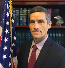 HIRED Deputy District Attorney Eric J. Dobroth was selected to serve as SLO County's Assistant District Attorney, beating out five other candidates to replace outgoing Assistant DA Lee Cunningham. - PHOTO COURTESY OF THE SLO COUNTY DISTRICT ATTORNEY'S OFFICE