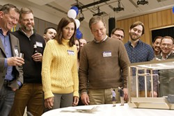GET SMALL Audrey (Kristin Wiig) and Paul (Matt Damon) decide to give the downsizing procedure a try in order to upgrade their lifestyle. - PHOTO COURTESY OF PARAMOUNT PICTURES