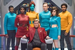 DARK TREK Meet the crew of the USS Callister in the fourth season of Netflix's Black Mirror. - PHOTO COURTESY OF NETFLIX