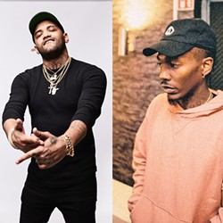 HIP-HOP HAPPENING SLO's historic Fremont Theater hosts hip-hop artists Joyner Lucas (left) and Dizzy Wright (right) on Jan. 26. - PHOTO COURTESY OF JOYNER LUCAS AND DIZZY WRIGHT