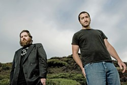 "INDIE DARLINGS San Diego-based Pinback, made up primarily of singer-songwriters-multi-instrumentalists ""Zach"" Armistead Burwell Smith IV and Rob Crow, play the SLO Guild Hall on Jan. 28. - PHOTO COURTESY OF DREW REYNOLDS"