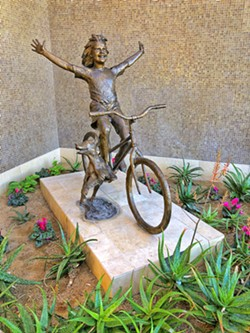 PUBLIC ART DELIGHT We felt the freedom of retirement as we perused the Palm Desert arts and shopping district. - PHOTO BY GLEN STARKEY