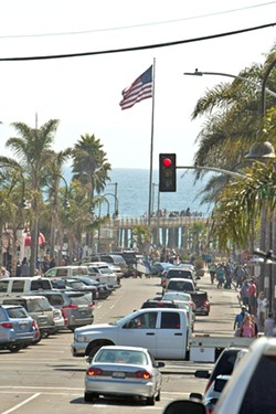 LOOKING FORWARD The Pismo Beach City Council extended a temporary moratorium on tattoo parlors, smoke shops, and other types of businesses that may not be in-line with plans to revamp its downtown commercial core. - FILE PHOTO BY STEVE E. MILLER
