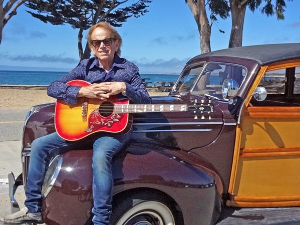 ICONIC COOL Founding member of The Beach Boys, Al Jardine, will present acoustic songs and personal stories about the band's fascinating career on Feb. 17 in the Clark Center. - PHOTO COURTESY OF SPUD
