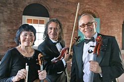LOVE IS IN THE AIR Bring your sweetie to Puffers in Pismo on Feb. 14 and hear the Candlelight Strings, who can play The Beatles too! - PHOTO COURTESY OF THE CANDLELIGHT STRINGS