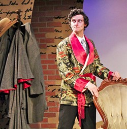HOLMES-BOY Ken Ludwig's Baskerville, a comedic take on Sir Arthur Conan Doyle's The Hound of the Baskervilles, kicks off the 2018 season at the Great American Melodrama in Oceano. - PHOTO COURTESY OF GREAT AMERICAN MELODRAMA