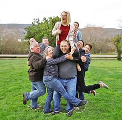 WITHIN THIS RING The goal during the Family Portrait is to fit your entire team inside the smallest circle possible. - PHOTO COURTESY OF PATRICK ANG
