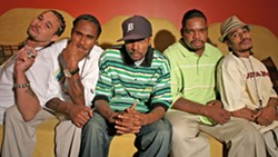 BONES Hip-hop group Bone Thugs-n-Harmony plays the Fremont Theater on Feb. 17, touring in support of their newest, New Waves. - PHOTO COURTESY OF BONE THUGS-N-HARMONY
