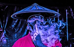 ENTER THE NINJA EDM new bass producer Datsik brings his Ninja Nation tour to The Graduate on Feb. 21. - PHOTO COURTESY OF DATSIK
