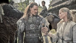 SWORD SWAGGER Saxon prince Uhtred of Bebbanburg (Alexander Dreymon, center) returns to his homeland hoping to reclaim his lordship in Netflix and BBC Two's The Last Kingdom. - PHOTO COURTESY OF NETFLIX