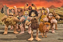 CAVE MEN One caveman must unite his tribe against a common enemy in Early Man. - PHOTO COURTESY OF LIONSGATE