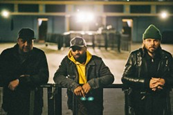 BRINGING THE PARTY EDM trio Keys N Krates plays a Collective Efforts concert at The Graduate on Feb. 25. - PHOTO COURTESY OF KEYS N KRATES