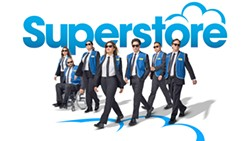 CUSTOMER IS ALWAYS RIGHT Superstore captures a semi-dramatic take on the contemporary blue-collar job. - PHOTO COURTESY OF NBC NETWORK