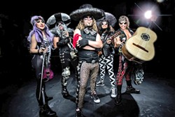MISH MASH MUSIC Metalachi, the greatest (and only) heavy metal mariachi band, comes to The Siren on March 10. - PHOTO COURTESY OF METALACHI