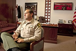 IAN PARKINSON Incumbent SLO County Sheriff Ian Parkinson reported four large donations totaling $3,300, according to campaign finance reports. - FILE PHOTO BY STEVE E. MILLER