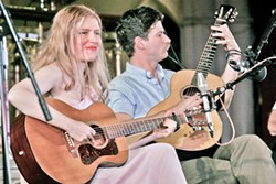 TOUCH OF THE IRISH Frank Fairfield and Meredith Axelrod are among several performers appearing at Féile Parkfield, California's first ever Irish-American festival, on March 17 and 18. - PHOTO COURTESY OF FRANK FAIRFIELD AND MEREDITH AXELROD