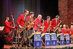 IN THE MOOD The Glenn Miller Orchestra brings their classic swinging big band hits to the Clark Center on March 18. - PHOTO COURTESY OF THE GLENN MILLER ORCHESTRA