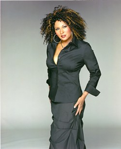 STILL STRONG! Pam Grier is a rape and cancer survivor who still acts but has turned much of her attention to philanthropy. - PHOTO COURTESY OF PAM GRIER