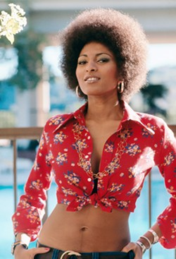 FOXY AND FIERCE! Pam Grier rose to prominence in early '70s Blaxploitation films, playing strong and beautiful characters that could best any man. - PHOTO COURTESY OF PAM GRIER