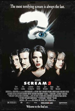 STILL SCREAMING The late horror legend Wes Craven directs the third entry in the Scream franchise that is a horror sequel about horror sequels. - PHOTO COURTESY OF DEMINSON FILMS