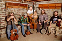 MIDWESTERN BOYS Illinois-based newgrass and Americana act Old Salt Union plays Morro Bay's The Siren on March 27. - PHOTO COURTESY OF OLD SALT UNION
