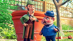 JUST THE GNOME When gnomes start disappearing from gardens in London, there's only one man who can solve the case in Sherlock Gnomes. - PHOTO COURTESY OF PARAMOUNT PICTURES