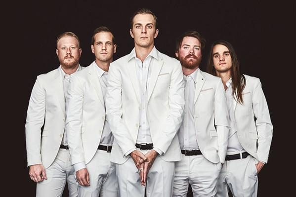 STAYING ALIVE Pop punk, emo, and alt-rockers The Maine headline a three-band show at the Fremont Theater on April 3. - PHOTO COURTESY OF THE MAINE