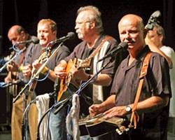 'LAY DOWN SALLY' BLUEGRASS STYLE Bluegrass icons The Seldom Scene play The Clark Center on March 31, bringing traditional compositions, originals, and bluegrass covers of hit pop and rock classics. - PHOTO COURTESY OF THE SELDOM SCENE