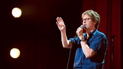 NOW STREAMING Most of Dana Carvey's set was identical to his routine in his Netflix special, Dana Carvey: Straight White Male, 60. - PHOTO COURTESY OF NETFLIX