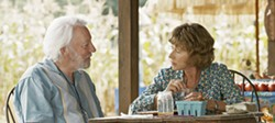 COMMITMENT John (Donald Sutherland) and Emma (Helen Mirren) struggle through the twilight of their long marriage as his dementia and her health problems complicate their final vacation. - PHOTO COURTESY OF INDIANA PRODUCTION COMPANY