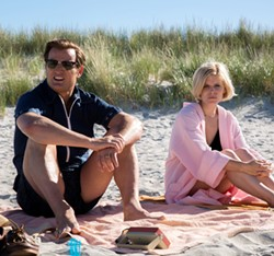 SCANDAL Chappaquiddick explores the events surrounding the drowning of a young woman (Kate Mara, right) after Ted Kennedy (Jason Clarke, left) drove his car off a bridge. - PHOTO COURTESY OF ENTERTAINMENT STUDIOS MOTION PICTURES