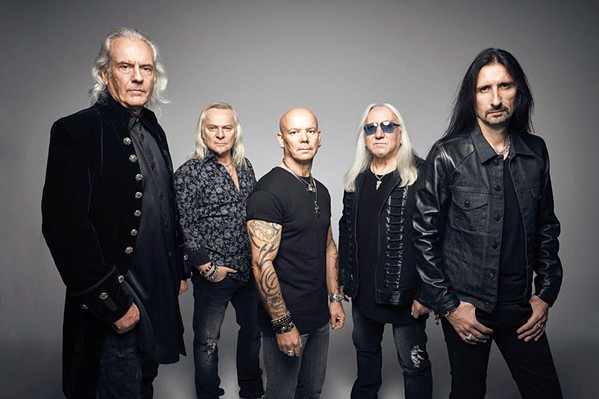 VERY 'EAVY Iconic British progressive hard rock act Uriah Heep plays the Fremont on April 18. - PHOTO COURTESY OF URIAH HEEP