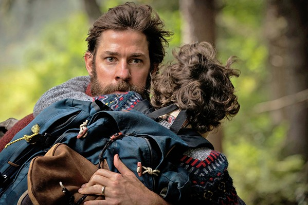 DESPERATE Lee Abbott (John Krasinski, who also directs), will do anything to keep his children safe from horrific creatures that hunt by sound. - PHOTO COURTESY OF PARAMOUNT PICTURES