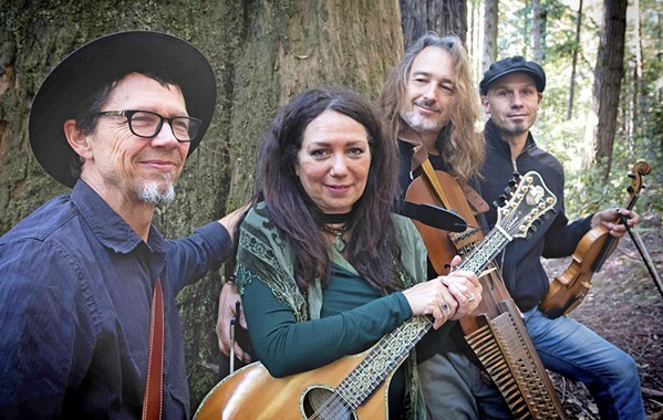 WORLD STRINGS Hear Celtic, Nordic, and American folk traditions when the Red Barn Community Music Series presents the New World String Project on May 5. - PHOTO COURTESY OF RYAN DAVIDSON