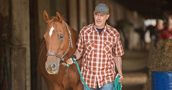 NOT A ROLE MODEL Steve Buscemi stars as Del, a washed-up horse trainer with scant respect for his horses, especially the ones that don't win despite his unethical methods. - PHOTO COURTESY OF BFI FILM FUND