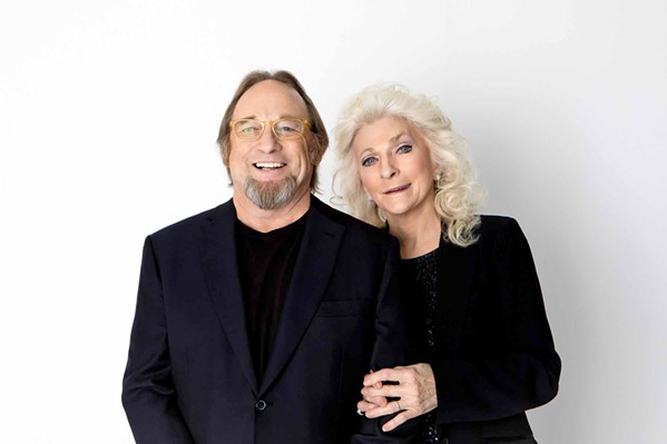 FOLK ICONS Stephen Stills and Judy Collins return to the Fremont Theater to play songs from their respective catalogs as well as off their 2017 album, Everybody Knows. - PHOTO COURTESY OF STEPHEN STILLS AND JUDY COLLINS