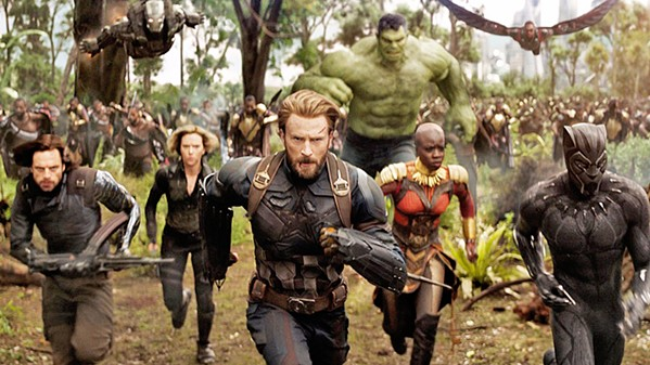 SUPER HEROES The Avengers must sacrifice everything in order to defeat the evil Thanos in Avengers: Infinity War. - PHOTO COURTESY OF WALT DISNEY PICTURES