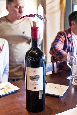 THE LIST You can still find a well-curated wine list featuring local and worldwide wines at ON Bar, formerly Villa Creek, in downtown Paso Robles. - PHOTO COURTESY OF BY MELISSA MATTSON