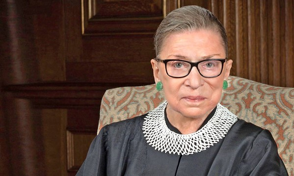 NOTORIOUS The documentary RBG explores the life and career of U.S. Supreme Court Justice Ruth Bader Ginsburg. - PHOTO COURTESY OF MAGNOLIA PICTURES