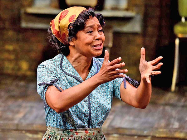 HEAR ME ROAR Karole Foreman's nuanced and powerful performance as Rose Maxson was one of the defining features of PCPA's season-ending production of Fences in 2017. - PHOTO COURTESY OF LUIS ESCOBAR/REFLECTIONS PHOTOGRAPHY STUDIO