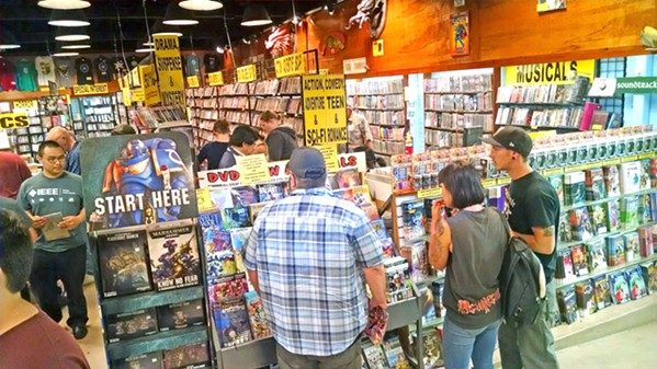 WIDE SELECTION Captain Nemo offers an overwhelming plethora of comics to choose from all year round. - PHOTO BY CALEB WISEBLOOD